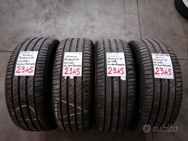 Rif.2345 pneumatici seminuovi 235/45 r18 michelin