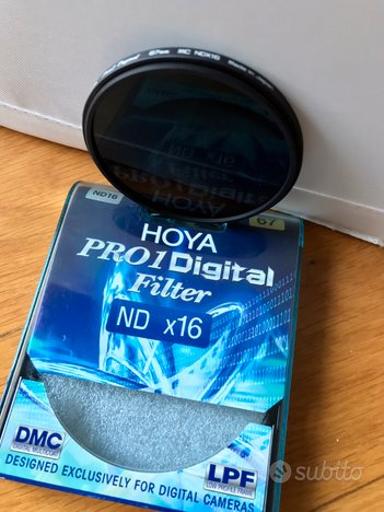 Filtri Hoya Pro Digital ND16 - 67mm
