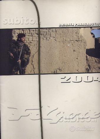 2004 calendario brigata paracadutisti folgore