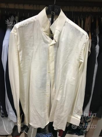 Camicia seta matrimonio tg M