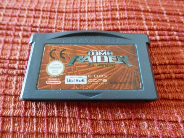 Giochi Game Boy - Tomb Raider e Stunt Driver