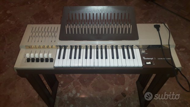 Organetto - tastiera - pianola BONTEMPI anni 80