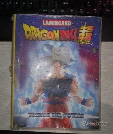 Album Lamincards Dragonball Torneo del Potere