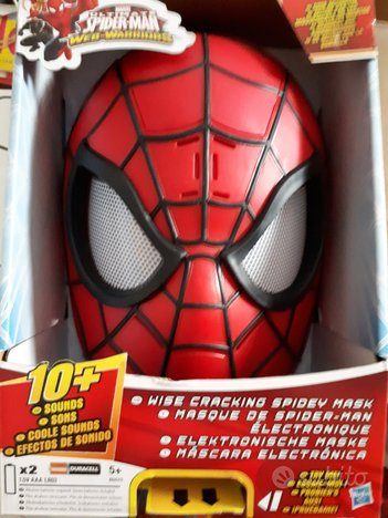 Maschera di Spiderman con suoni
