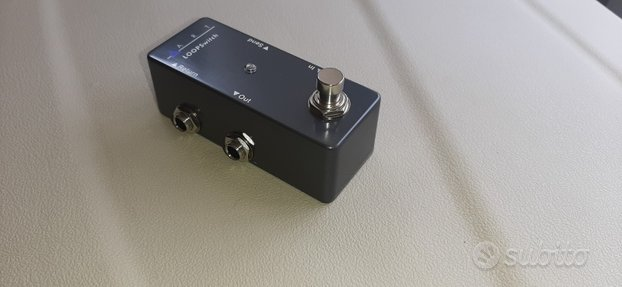 Pedale LoopSwitch/True Bypass - chitarra elettrica