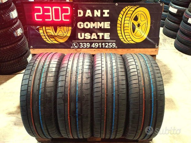 4 Gomme 235 55 19 GOODYEAR 90% SPED.GRATIS