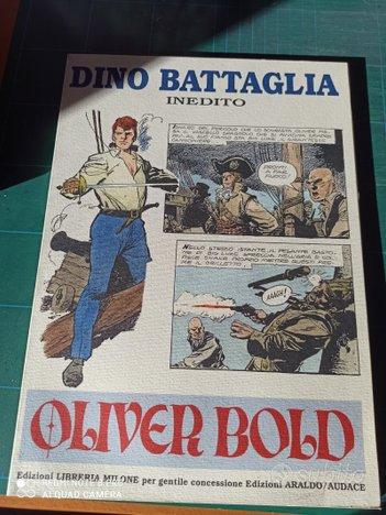 Dino battaglia.inedito.oliver bold.libreria milone