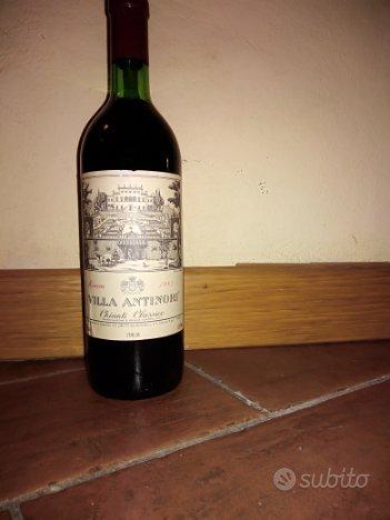 Bottiglie vino Villa Antinori