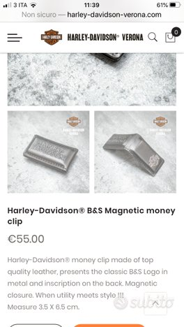 Ferma soldi Harley Davidson