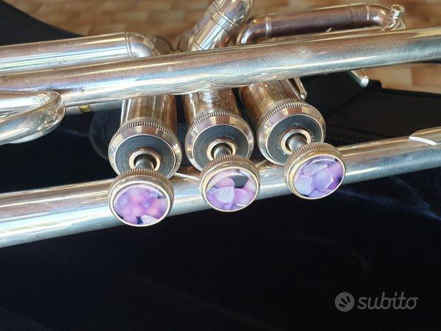 Tromba in sib Bach 43 argentata canneggio ml