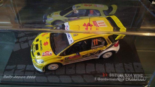 Die cast 1/43 Modellino Auto SUZUKI SX4 WRC Rally