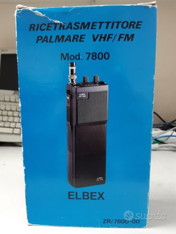 Ricetrasmittente VHF FM Elbex 7800