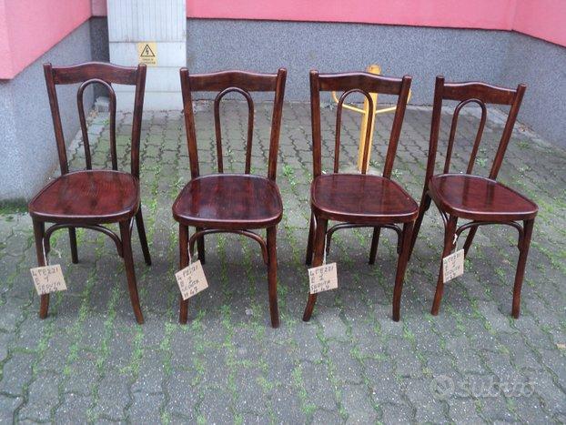 4 sedie thonet depoca,Thonet
