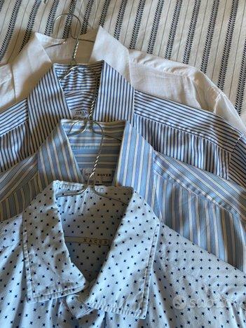 Stock camicie varie fantasie tg. 39 slim