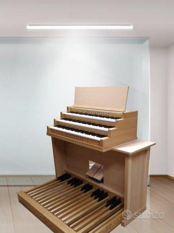 Organo liturgico hauptwerk midi