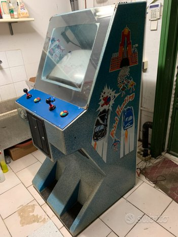Cabinato, 2 giochi Dragon Ninja & Street Fighter