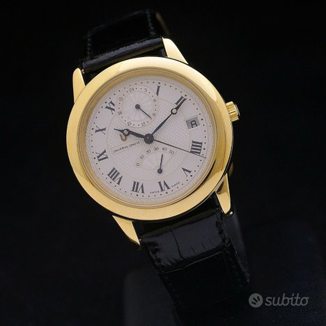 Universal Geneve Power reserve GMT oro 18 kt 37mm