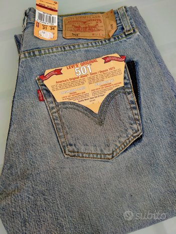 Stock jeans varie marche