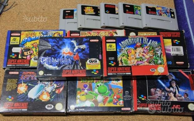 Nintendo SNES Supernintendo giochi