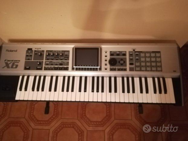 Roland fantom x6,massima espansione,audio track