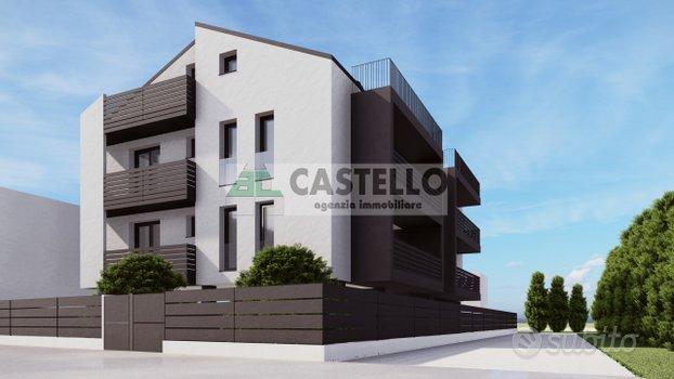 Padova zona Torre/Mortise 2 camere con terrazzi es