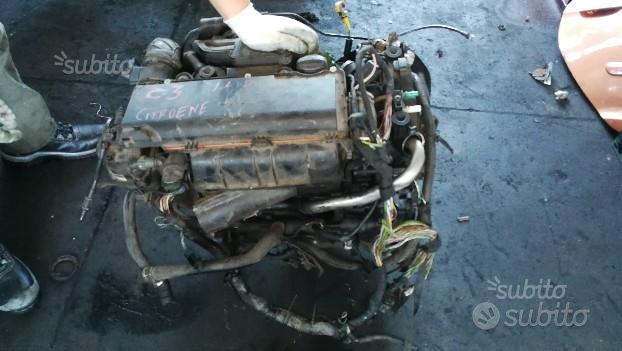 Motore citroen c3 1.4 hdi sigla 10fd18