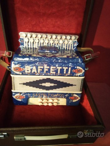 Organetto 8 bassi DINO BAFFETTI