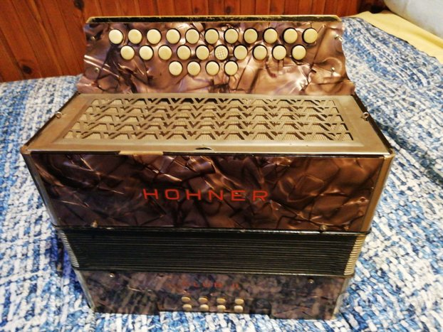 Organetto hohner 8 bassi