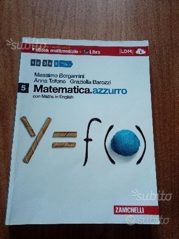 Matematica azzurro Bergamini Trifone Barozzi