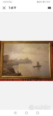 Nicolas De Corsi, olio su cartone, 50x70