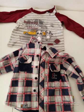 Magliette bimbo da 3 a 12 mesi