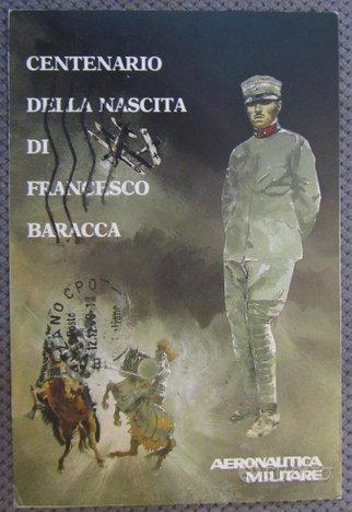 Aeronautica Militare - F. Baracca cartolina 1988