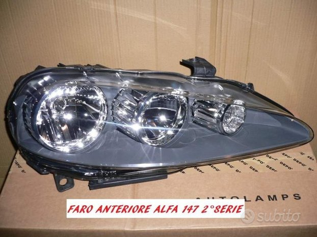 Faro anteriore Alfa Romeo 147 dal 2004 in poi