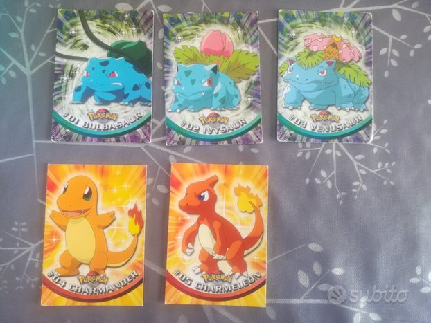 Carte Pokemon Topps LOTTO 29 carte