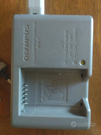 Caricabatterie orig per mirrorless Olympus BCN-1