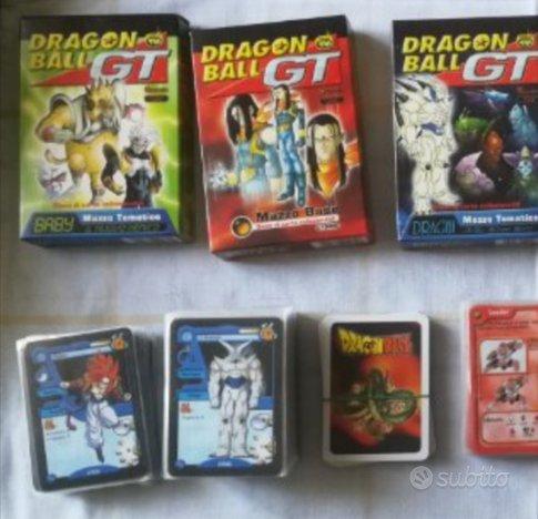 Mazzi carte da gioco DragonBall gt