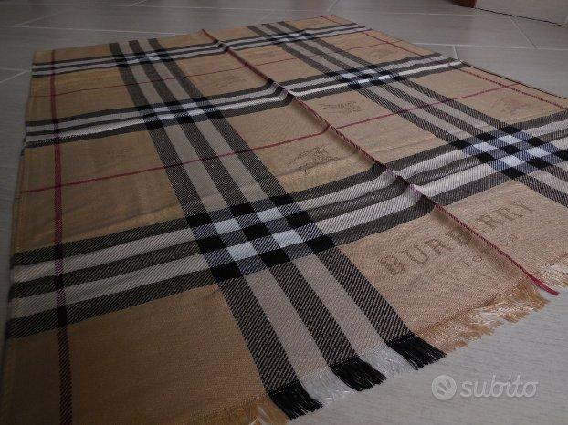 Sciarpa Burberry in cashmere originale stola