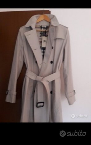 Trench Burberry nuovo