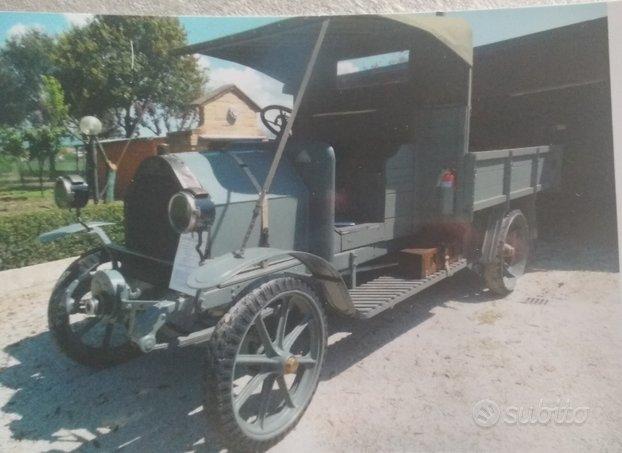 Camion d'epoca fiat BL 18 del 1913