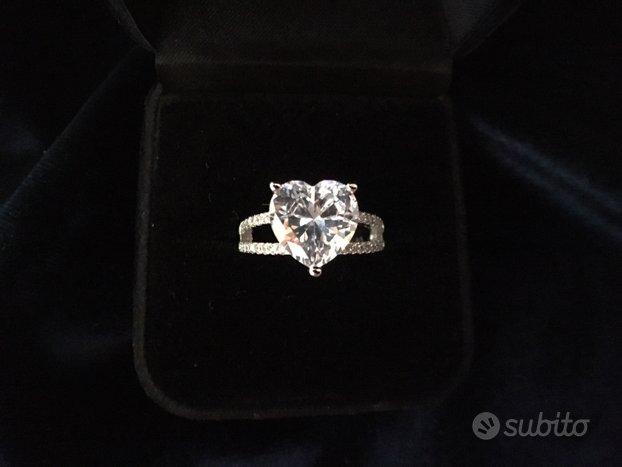Anello nuovo in argento S925