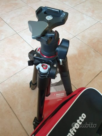 Treppiede manfrotto mkbfra4-bh +manfrotto msq6t