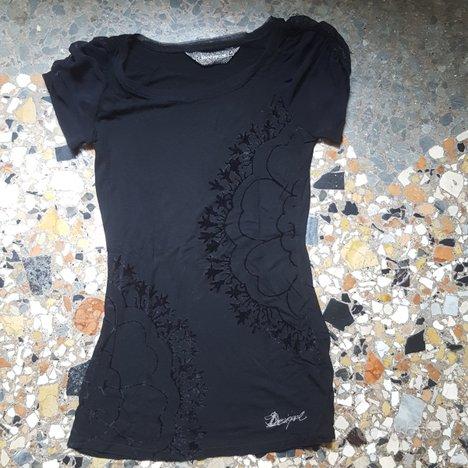 Maglietta Desigual nera xs