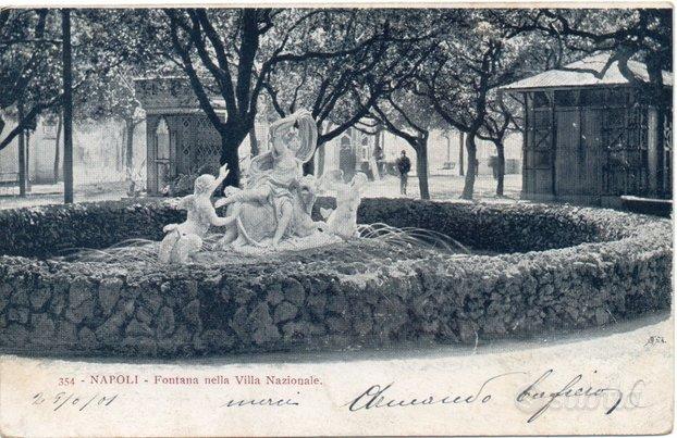 VILLA NAZIONALE NAPOLI , ora Villa comunale