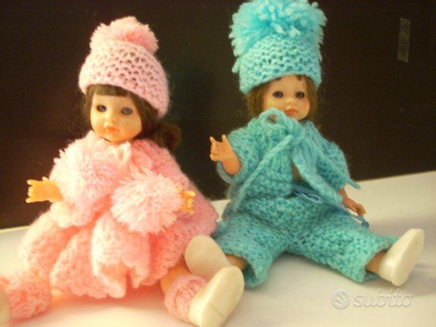 Bambole anni 70 coppia