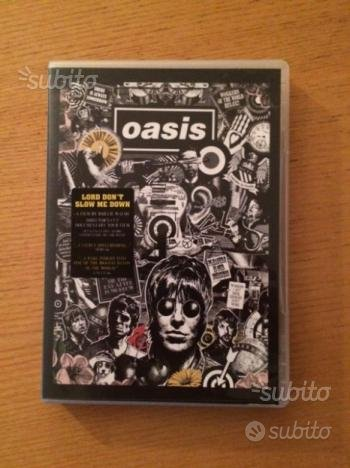"Oasis ""LORD DON'T SLOW ME DOWN"" DVD"
