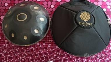 Handpan Battiloro Re minore 432 Hz Vega