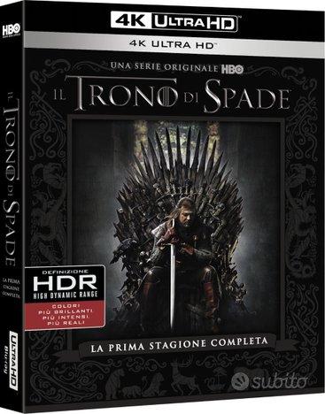 COFANETTO Il Trono di Spade STAGIONE 01 BLU RAY 4K