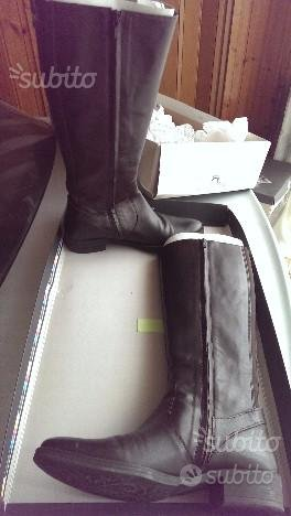 Stivali donna GEOX in pelle nappa n. 40 colore caf