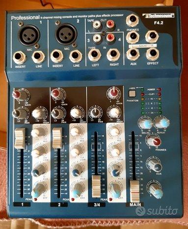 Mixer Professionale Technosound 4CH