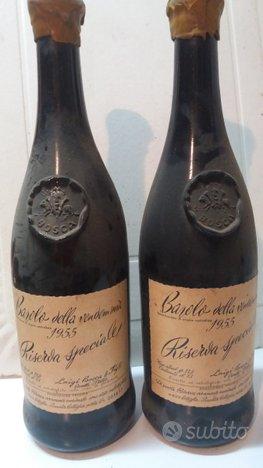 Bottiglie d'annata